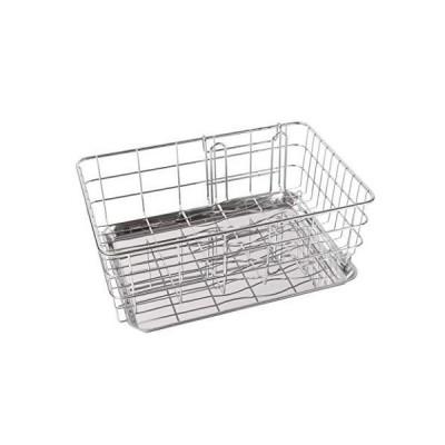 パール金属 食器 水切り かご ステンレス デュアリス 日本製 H-5642