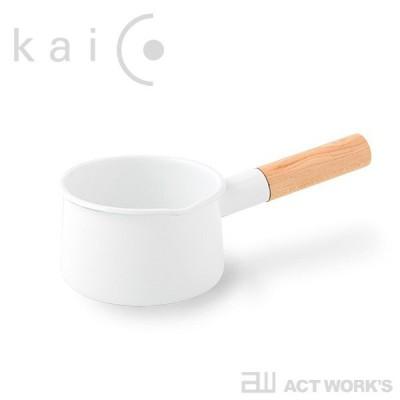 kaico ミルクパンS (直径約13cm)-K-004- カイコ 琺瑯 ほうろう キッチン用品 日本製 片手鍋 小泉誠