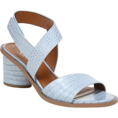 フランコサルト レディース サンダル シューズ Barda Heeled Sandal Light Blue Italian Amazon Croco Leather