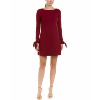 Susana Monaco スサナモナコ ファッション ドレス Susana Monaco Tied-Sleeve Shift Dress M Purple
