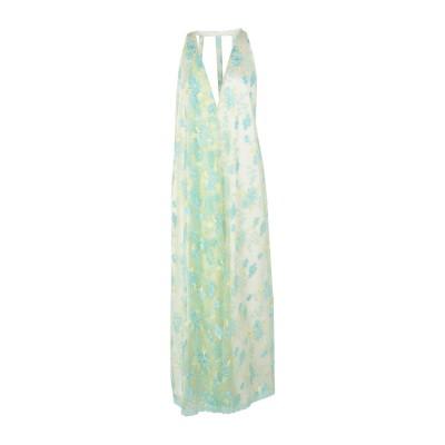 NORA BARTH ロングワンピース&ドレス ライトイエロー 42 ポリエステル 100% ロングワンピース&ドレス