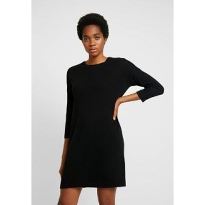 ヴェロモーダ レディース ワンピース トップス VMMINNIECARE O NECK DRESS - Jumper dress - black black