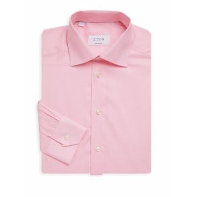 イートン メンズ ドレスシャツ ワイシャツ Classic Cotton Dress Shirt