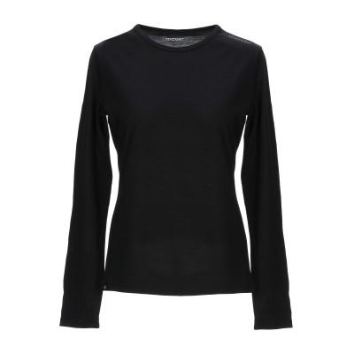 MOVER® T シャツ ブラック XL ウール 100% T シャツ
