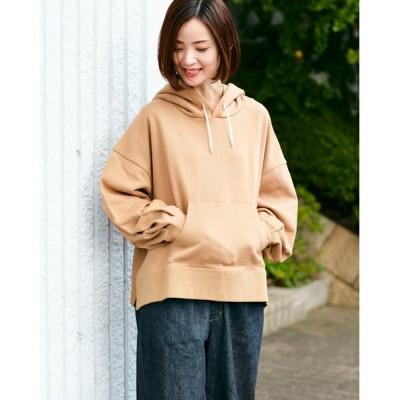 Traditional Weatherwear / BIG HOOD SLIT WOMEN トップス > パーカー