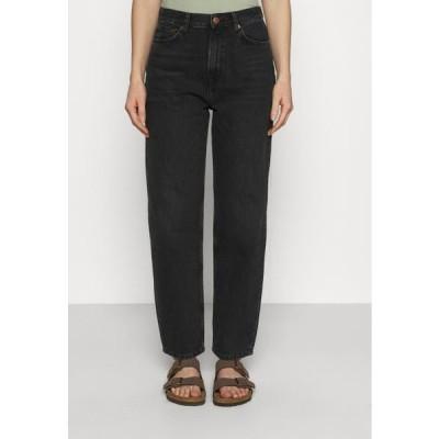 レディース ファッション ELLY - Relaxed fit jeans - black snow
