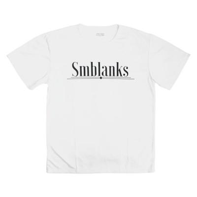 黄ジミ有アウトレットB品 // プレミアムドライ(速乾) // Cigarette XLサイズ 白(ホワイト) SMBLANKS(エスエムブランクス) スケボー スケートボード Tシャツ