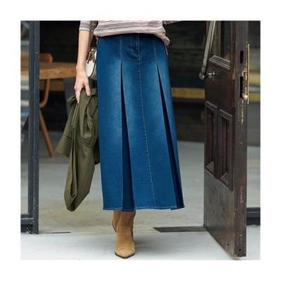 レディースファッション レディース スカート ロングスカート Aラインデニムスカート M(64〜70) L(69〜77) LL(77〜85)|1756-174891