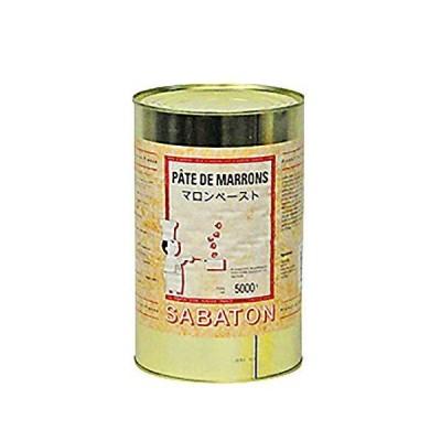 サバトンマロンペースト5kg缶ペースト