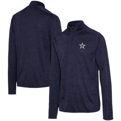 """メンズ ジャケット """"Dallas Cowboys"""" Kharkov Quarter-Zip Jacket - Navy"""