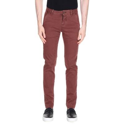 ロイ ロジャース ROŸ ROGER'S パンツ ボルドー 28 コットン 97% / ポリウレタン 3% パンツ