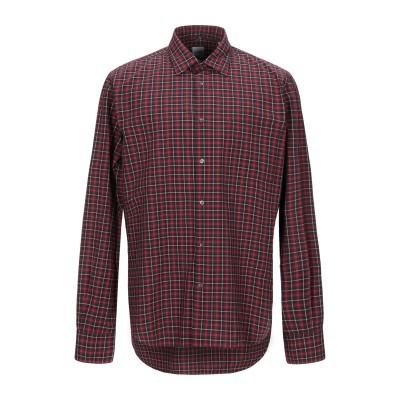 アスペジ ASPESI シャツ レッド 40 コットン 100% シャツ