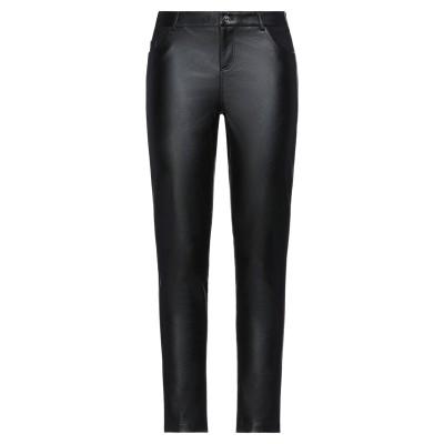 リュー ジョー LIU •JO パンツ ブラック 44 レーヨン 100% / ナイロン / ポリウレタン / ポリウレタン樹脂 パンツ