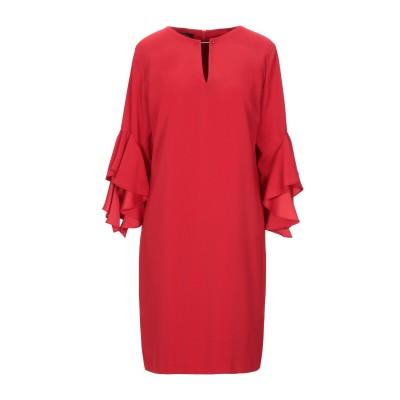 HANITA ミニワンピース&ドレス レッド L ポリエステル 97% / ポリウレタン 3% ミニワンピース&ドレス