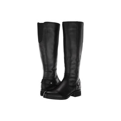 スティーブマッデン Jax Riding Boot レディース ブーツ Black Leather
