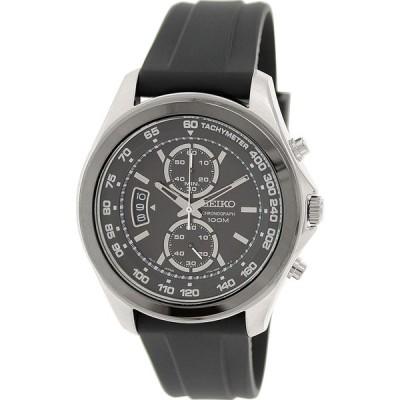 Seikoクロノグラフブラックダイヤルメンズ時計snn257p2 並行輸入品
