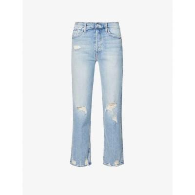 マザー MOTHER レディース ジーンズ・デニム ボトムス・パンツ The Tomcat straight mid-rise jeans The Confession