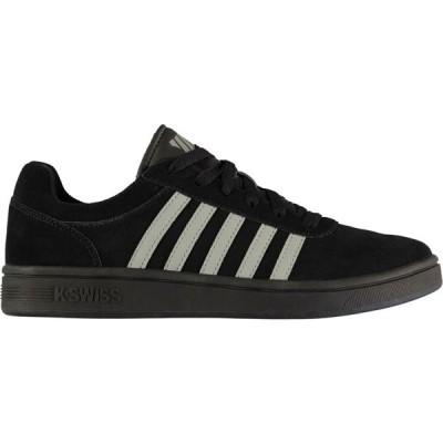 ケースイス K Swiss メンズ スニーカー シューズ・靴 Cheswick SDE Trainers Black/Grey