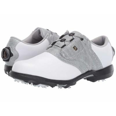 フットジョイ スニーカー シューズ レディース DryJoys White/Black/White