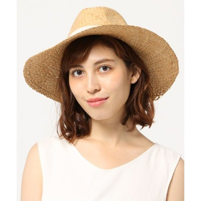 帽子 ハット SANTELLI 別注リボン雑材帽