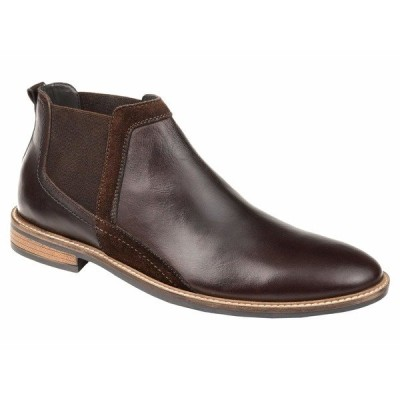 トーマス アンド バイン ブーツ&レインブーツ シューズ メンズ Beckham Chelsea Ankle Boot Brown