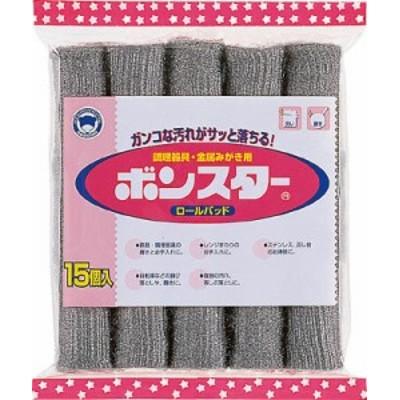 ボンスター ロールパッド15個入【B-006】(清掃用品・たわし・スポンジ)