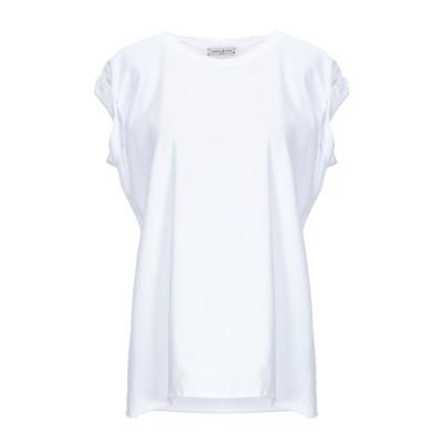 ナターシャ・ジンコ NATASHA ZINKO T シャツ ホワイト L コットン 85% / ポリウレタン 15% T シャツ