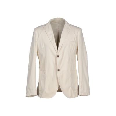 ALV ANDARE LONTANO VIAGGIANDO テーラードジャケット ベージュ 50 コットン 98% / ポリウレタン 2% テーラー