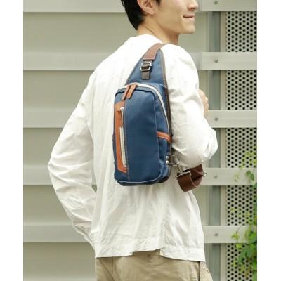 【アンビリオン】 オティアス Otias / PVC(合成皮革)タテ型ボディバッグ ユニセックス ブルー F UNBILLION