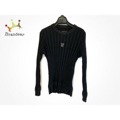 バレンザポースポーツ VALENZA PO SPORTS 長袖セーター サイズ40 M レディース 黒    スペシャル特価 20201214