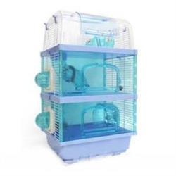 ACEPET 愛思沛101三層鼠籠738-3F(附鼠槽 飲水器 滾輪)-豪華鼠籠 老鼠籠子/黃金鼠/布丁鼠/倉鼠/三線鼠