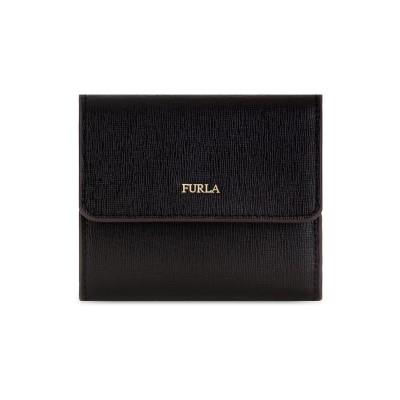 フルラ FURLA 財布 ブラック 革 100% 財布