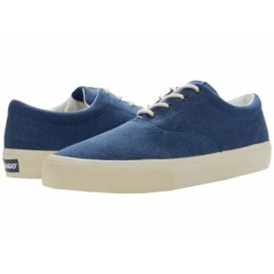Sebago セバゴ メンズ 男性用 シューズ 靴 スニーカー 運動靴 John Zen Canvas Blue True【送料無料】