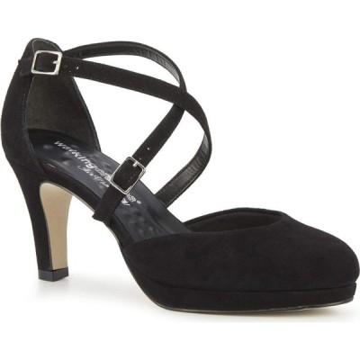 ウォーキング クレードル Walking Cradles レディース シューズ・靴 Pammy Black Suede