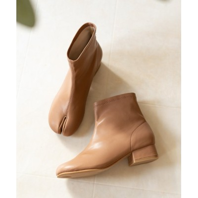 welleg from outletshoes / 3cmヒール 足袋ストレッチブーツ WOMEN シューズ > ブーツ