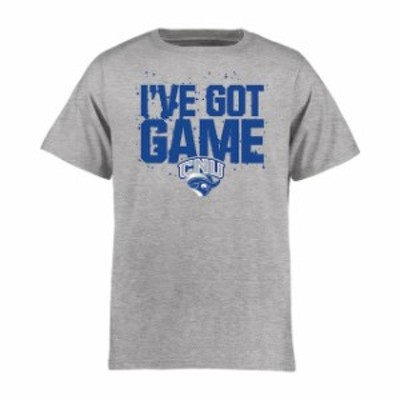 Fanatics Branded ファナティクス ブランド スポーツ用品  Christopher Newport University Captains Youth Ash Got Game T-Shirt