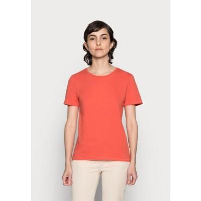 マルコポーロ レディース ファッション Basic T-shirt - burnt orange