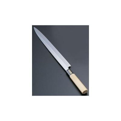 SA佐文 本焼鏡面仕上 柳刃 木製サヤ TKG 27cm
