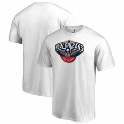 Fanatics Branded ファナティクス ブランド スポーツ用品  Fanatics Branded New Orleans Pelicans White Big & Tall Team Primary Logo