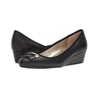 Bandolino バンドーリノ レディース 女性用 シューズ 靴 ヒール Tad - Black Super Nappa Leather