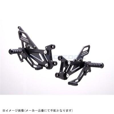 STRIKER ストライカー:ステップキット ブラック YZF-R1 07-08