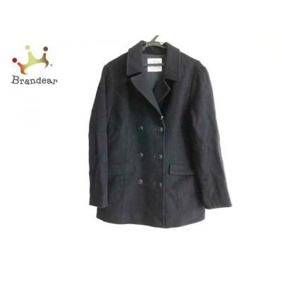 ジェイプレス J.PRESS Pコート サイズ13 L レディース ダークネイビー 冬物   スペシャル特価 20200215