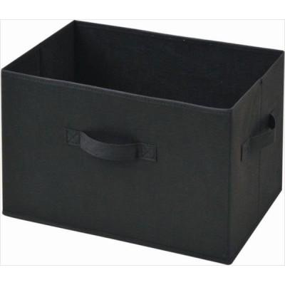 YAMAZEN(山善) どこでも収納ボックス YTCF-3P(BK) ブラック 3個セット (直送品)