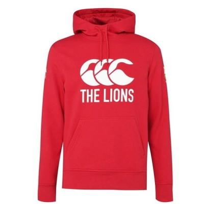 カンタベリー パーカー・スウェットシャツ メンズ アウター British and Irish Lions Logo Hoodie Mens