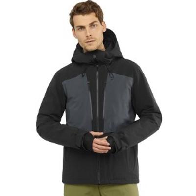 サロモン メンズ ジャケット&ブルゾン アウター Highland Jacket - Men's Black