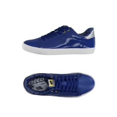 LOTTO スニーカー&テニスシューズ(ローカット) ブルー 39 紡績繊維 スニーカー&テニスシューズ(ローカット)