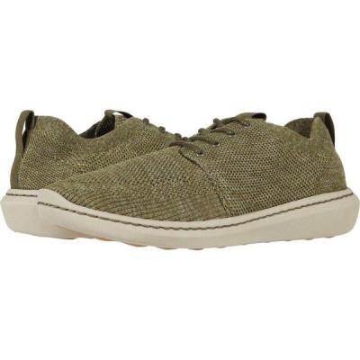 クラークス Clarks メンズ シューズ・靴 Step Urban Mix Olive Green Combi