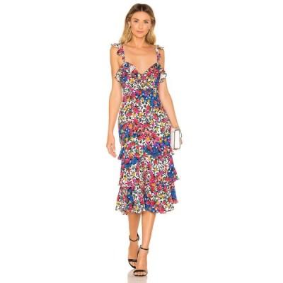 マジョレル MAJORELLE レディース ワンピース ワンピース・ドレス Nolita Midi Dress Patchwork Multi