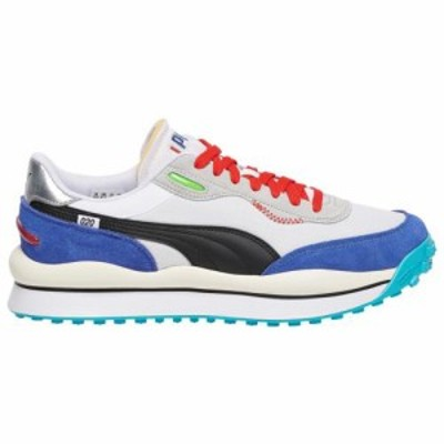 (取寄)プーマ メンズ シューズ プーマ ライダー スタイルMen's Shoes PUMA Rider StyleWhite Blue Grey 送料無料
