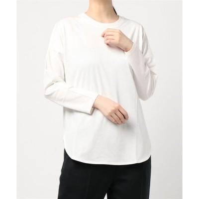 tシャツ Tシャツ 【ブランド別注】ラウンドヘムカットプルオーバー